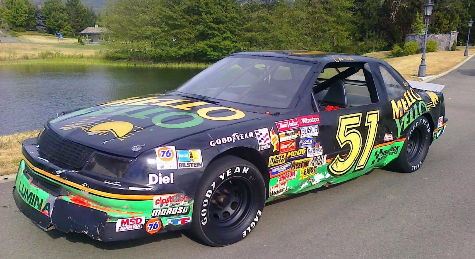 Mellow Yellow Nascar Used in the movie DAYS OF THUNDER! Up for Bid ...